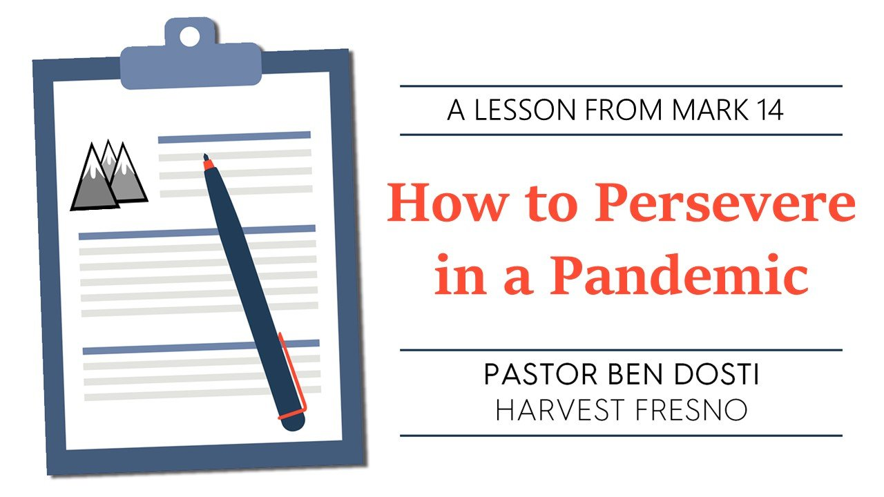 How to Persevere in a Pandemic